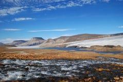 Corrente dell'isola Ellesmere Immagini Stock Libere da Diritti