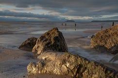 Corrente della spiaggia Fotografia Stock Libera da Diritti