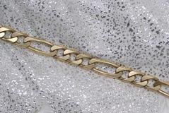 Corrente do ouro imagem de stock royalty free