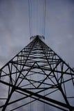 Corrente elétrica alta principal do pilão alto da eletricidade Imagens de Stock Royalty Free