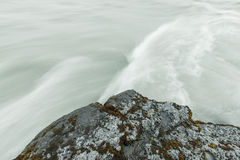 Corrente a flusso rapido Fotografia Stock Libera da Diritti
