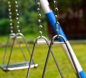 A corrente metálica objeta a fotografia do fundo Fotografia de Stock