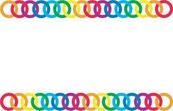 Corrente Multicoloured Fotos de Stock Royalty Free