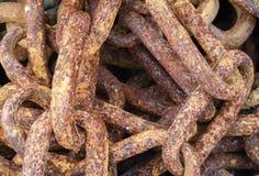 Corrente oxidada Fotografia de Stock