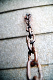 Corrente oxidada Imagens de Stock