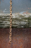 Corrente oxidada foto de stock