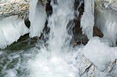 Corrente santa della cascata Fotografie Stock Libere da Diritti
