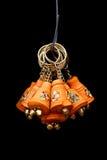 Correntes chaves de madeira coloridas Imagens de Stock Royalty Free