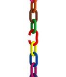 Correntes coloridas da fuga Fotografia de Stock