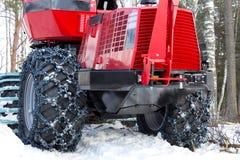 Correntes de pneumático Imagem de Stock Royalty Free