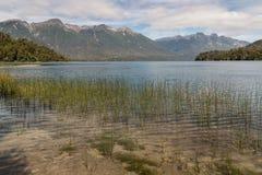Correntoso lake at Nahuel Huapi National Park. Argentina Stock Photos