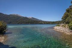 Correntoso See - Landhaus-La-Angostura, Patagonia, Argentinien Stockfoto