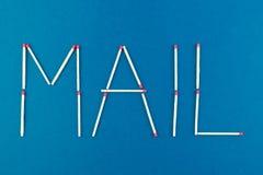 correo Foto de archivo libre de regalías