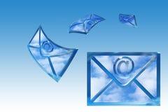Correo fotografía de archivo libre de regalías