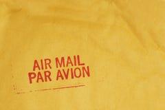 Correo aéreo Imágenes de archivo libres de regalías