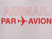 Correo aéreo Fotos de archivo