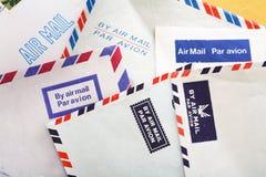 Correo aéreo Fotografía de archivo libre de regalías
