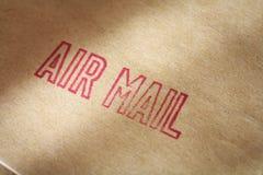 Correo aéreo Imagen de archivo
