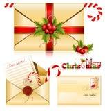 Correo de la Navidad Imágenes de archivo libres de regalías