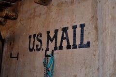 Correo de los E.E.U.U. Fotos de archivo libres de regalías
