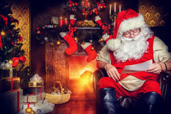 Correo de Santa Imagen de archivo