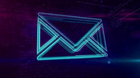 Correo electrónico - lazo del concepto de las comunicaciones digitales