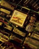 Correo electrónico, sello en placa de circuito Foto de archivo