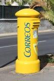 Correos - courrier espagnol Photographie stock