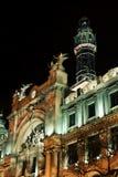 Correos y Telegrafos, Valencia, Spain Royalty Free Stock Photos
