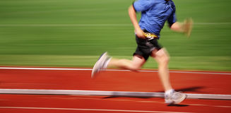 Correr la carrera Imagenes de archivo