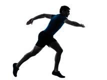 Correr running do velocista do corredor do homem foto de stock royalty free