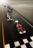 Correre F1 Fotografia Stock Libera da Diritti