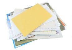 Correspondência do correio Foto de Stock Royalty Free