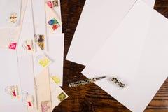 Correspondance photos stock