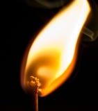 Correspondance brûlante photographie stock