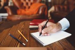 Correspondance personnelle et d'affaires image stock