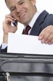 Correspondance plaisante d'affaires image libre de droits