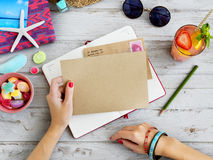 Correspondence Mail Diary Memo Concept Royalty Free Stock Photography