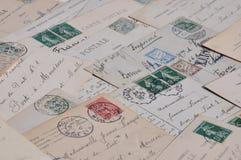 correspondencia Foto de archivo libre de regalías