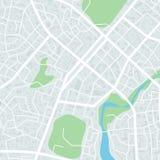 Correspondencia abstracta de la ciudad Plan del distrito de la ciudad Esquema del centro de ciudad Ilustración del vector stock de ilustración