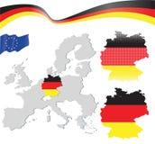 Correspondencia de Alemania Foto de archivo
