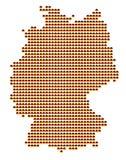 Correspondencia de Alemania stock de ilustración