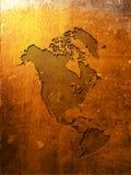 Correspondencia de América Fotografía de archivo libre de regalías