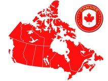 Correspondencia de Canadá libre illustration