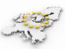 Correspondencia de Europa ilustración del vector