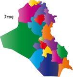 Correspondencia de Iraq Imágenes de archivo libres de regalías
