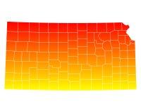 Correspondencia de Kansas ilustración del vector