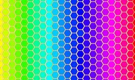 Correspondencia de los arco iris del vector del mundo. Imagen de archivo libre de regalías
