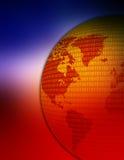 Correspondencia de mundo Imagen de archivo