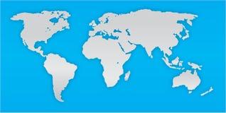 Correspondencia de mundo Foto de archivo